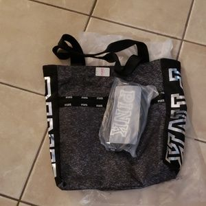 VS PINK Tote w/small pouch
